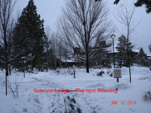 The next day, Sunriver Lodge
