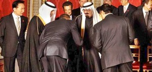Obama Bows to his fellow Muslims