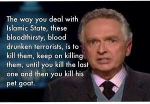 To win: Kill jihadists.