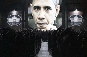 Obama turns Orwellian